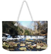 The Wissahickon Creek In February Weekender Tote Bag