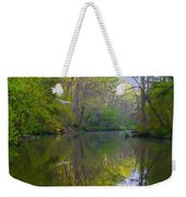 The Wissahickon Creek In The Morning Weekender Tote Bag