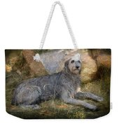 The Wolfhound  Weekender Tote Bag by Fran J Scott