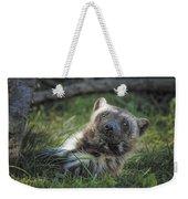 The Wolverine Skunk Bear Happy Face Weekender Tote Bag