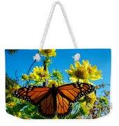 The Wonderful Monarch 3 Weekender Tote Bag