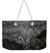 Ice Over The River Weekender Tote Bag