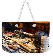 The Woodworker Weekender Tote Bag by Paul Ward