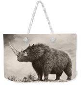The Woolly Rhinoceros Is An Extinct Weekender Tote Bag