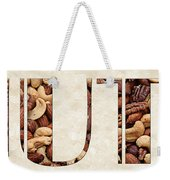 The Word Is Nuts Weekender Tote Bag