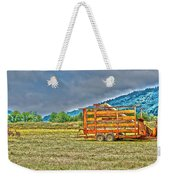 The Working Field Weekender Tote Bag by Richard J Cassato