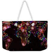 The World At Night  Weekender Tote Bag