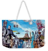 The World Of Sci Fi Weekender Tote Bag