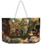 The Worship Of The Golden Calf Weekender Tote Bag