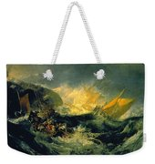 The Wreck Of A Transport Ship Weekender Tote Bag