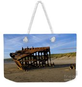 The Wreck Of The Peter Iredale - Oregon Weekender Tote Bag