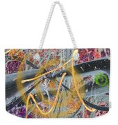 The Writing On The Wall 12 Weekender Tote Bag