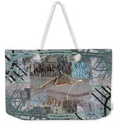 The Writing On The Wall 13 Weekender Tote Bag
