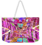 The Writing On The Wall 17 Weekender Tote Bag