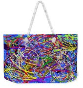 The Writing On The Wall 26 Weekender Tote Bag