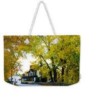 The Yardley Inn In Autumn Weekender Tote Bag