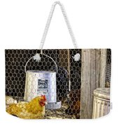 The Yellow Chicken Weekender Tote Bag