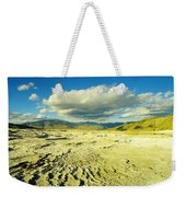 The Yellow Rock Of Yellowstone Weekender Tote Bag