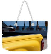 The Yellow Truck Weekender Tote Bag