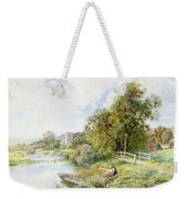 The Young Angler Weekender Tote Bag
