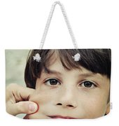 The Youngest Weekender Tote Bag
