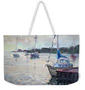 The Youngstown Yachts Weekender Tote Bag