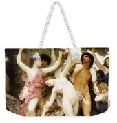 The Youth Of Bacchus Detail Weekender Tote Bag