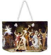The Youth Of Bacchus Weekender Tote Bag