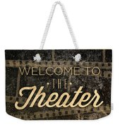 Theater Weekender Tote Bag