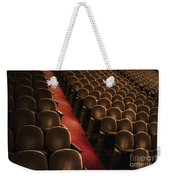 Theater Seats Weekender Tote Bag