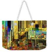Theatre District - Neighborhoods Of New York City Weekender Tote Bag