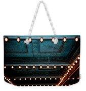 Theatre Lights Weekender Tote Bag