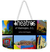 Theatres Of Washington Dc Weekender Tote Bag by Jost Houk