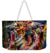 Their Spirit Is Among Us - Nanticoke Powwow Delaware Weekender Tote Bag
