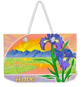 Themes Of The Heart-hope Weekender Tote Bag