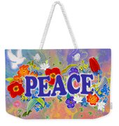 Themes Of The Heart-peace Weekender Tote Bag