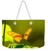 Then A Butterfly Weekender Tote Bag