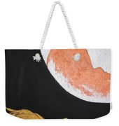 ..then The Moon Come To Kiss Good Bye... Weekender Tote Bag