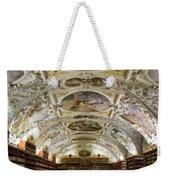 Theological Hall Strahov Monastery Weekender Tote Bag