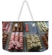 There Goes My Diet In Laduree On The Champs De Elysees Weekender Tote Bag