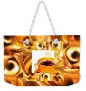 There Is A Coffee At The End Of The Tunnel  Weekender Tote Bag