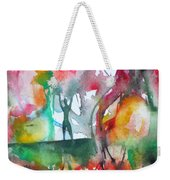 There Is A Friend Over There Weekender Tote Bag