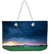 There Is A Rainbow Behind The Storm Weekender Tote Bag