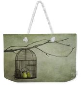 There Is A World Outside Weekender Tote Bag