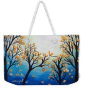 There Is Calmness In The Gentle Breeze Weekender Tote Bag