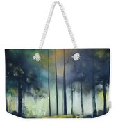There Is Light At The End Of The Woods Weekender Tote Bag