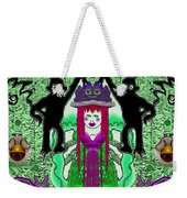There It Is The Fantasy Panda Hat Weekender Tote Bag