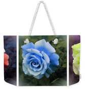 There Were Roses Triptych 2 Weekender Tote Bag