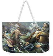 There's Something Fowl Afloat Weekender Tote Bag