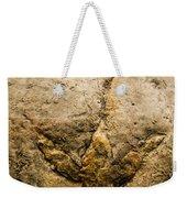 Theropod Dinosaur Footprint Weekender Tote Bag